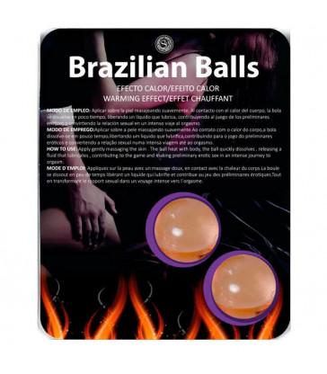 BRAZILIAN BALLS EFECTO CALOR 2 UNIDADES