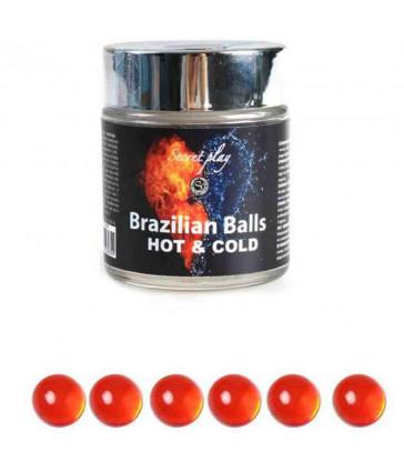BRAZILIAN BALLS EFECTO CALOR & FRIO  6 UNIDADES