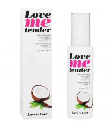 LOVE TO LOVE ME TENDER MASAJE & EFECTO CALOR SABOR A COCO 100ML