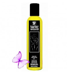 EROS-ART ACEITE MASAJE TANTRICO NATURAL Y AFRODISÍACO NEUTRAL 200ML