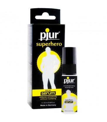PJUR SUPERHERO SERUM RETARDANTE CONCENTRADO 20ML