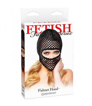FETISH FANTASY CAPUCHA EN RED NEGRO