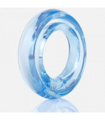 SCREAMING O RING O2 ANILLO DOBLE PENE Y TESTICULOS AZUL