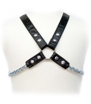 LEATHER BODY CHAIN HARNESS II