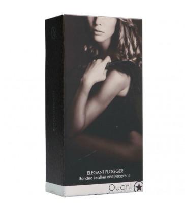 OUCH! - LATIGO ELEGANTE BDSM - GRIS TITANIO