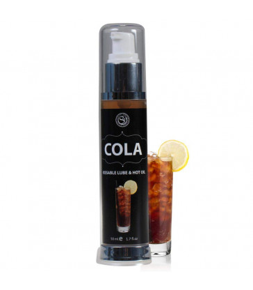 LUBRICANTE COMESTIBLE CALOR COLA 50 ML